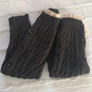 Accessories - Knit Leg Warmers Boot Socks